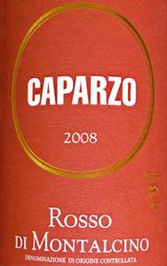Rosso di Montalcino 2008