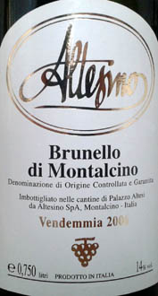 Il Brunello di Altesino