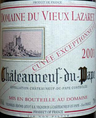 Appellation Châteauneuf du Pape