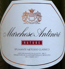 Antinori Brut Nature
